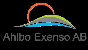 Ahlbo Exenso AB Logotyp